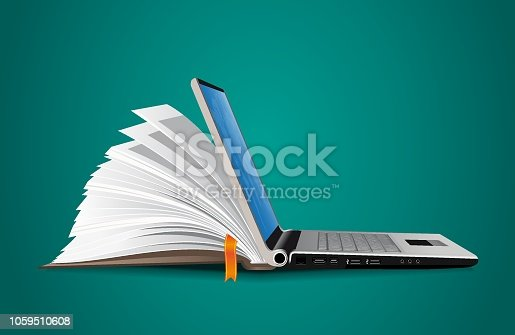 istock IT Communication - e-learning - internet network as knowledge base 1059510608