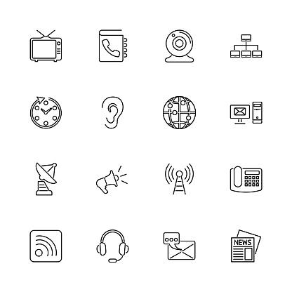 Communication - Flat Vector Icons