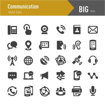 Communication Icon - Big Series