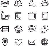 Communication Icon - Line Series