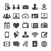 Communication Icon Set - Smart Series
