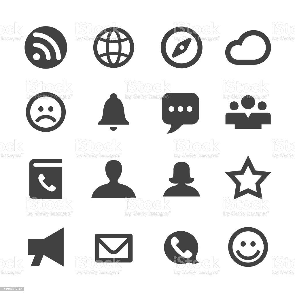 Communication Icons - Minimal Series - Векторная графика Беспроводная технология роялти-фри
