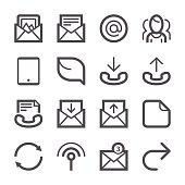 Communication icons set 3 | Stroke Series