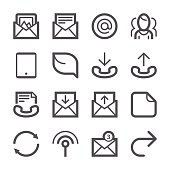 Communication icons set 3 | Stroke Series