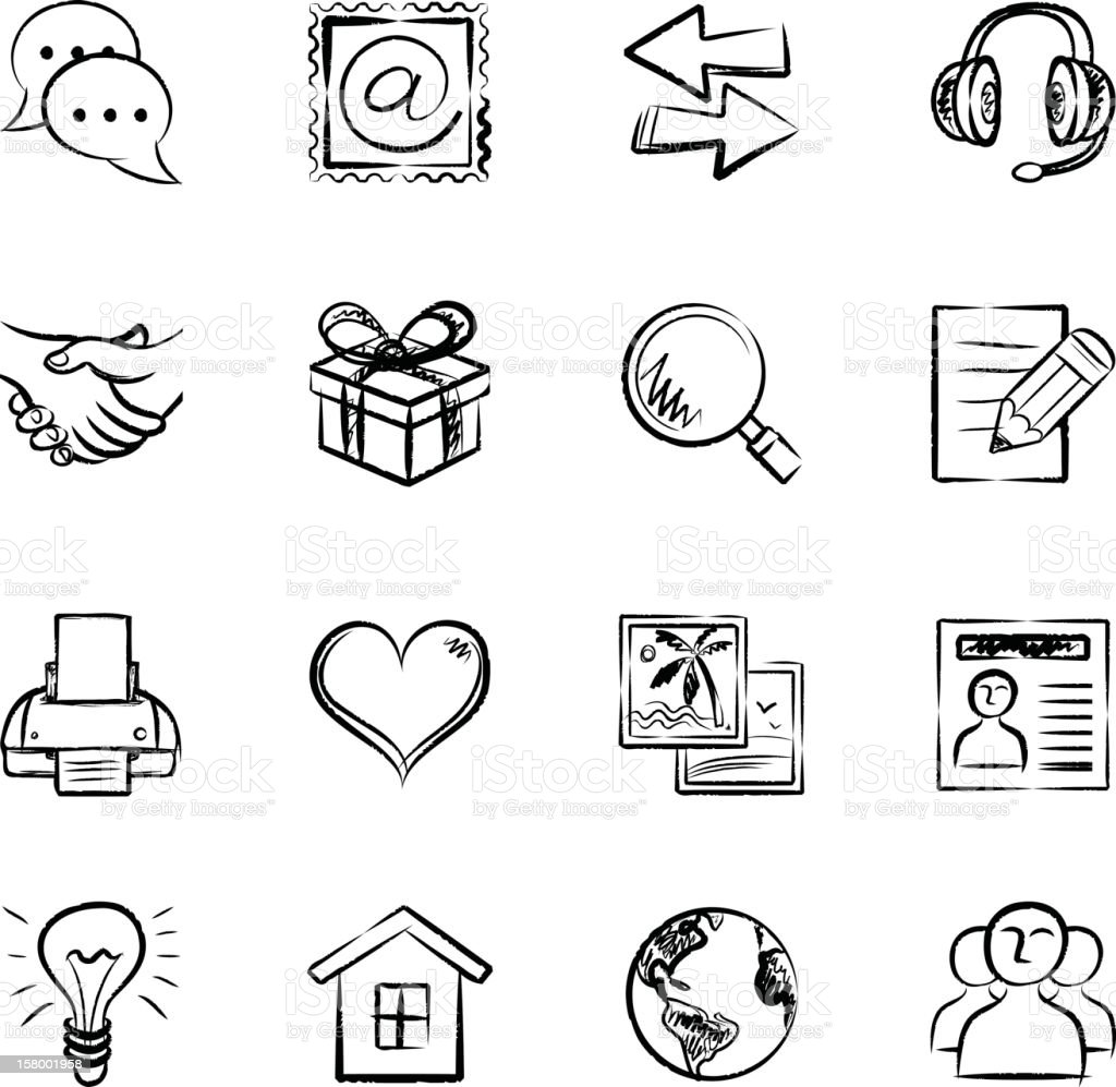 Communication Icons royalty-free communication icons stock vector art & more images of arrow symbol