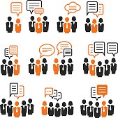 istock Communication icons 532182726