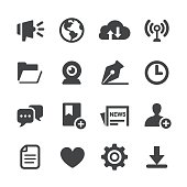 Communication Interface Icons - Acme Series