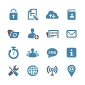 Communication Interface Icons