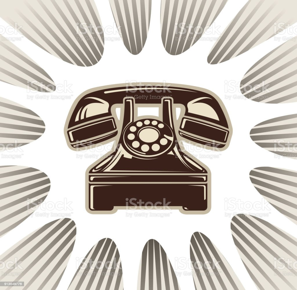 communication sign vector art illustration