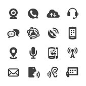Communication Technology Icons - Acme Series