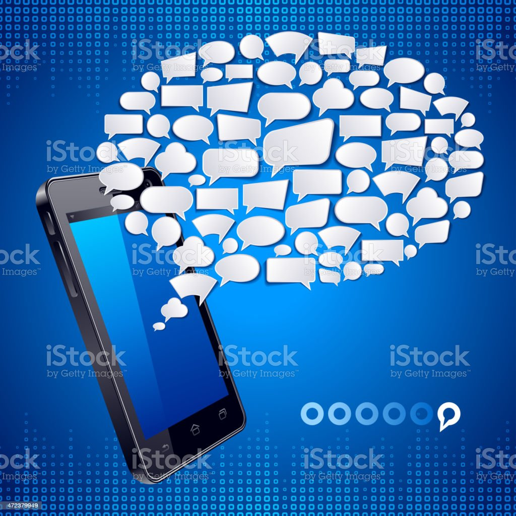 Communication Technology royalty-free stock vector art