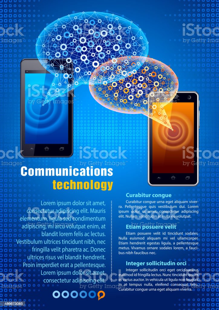 Communication Technology royalty-free communication technology stock vector art & more images of article