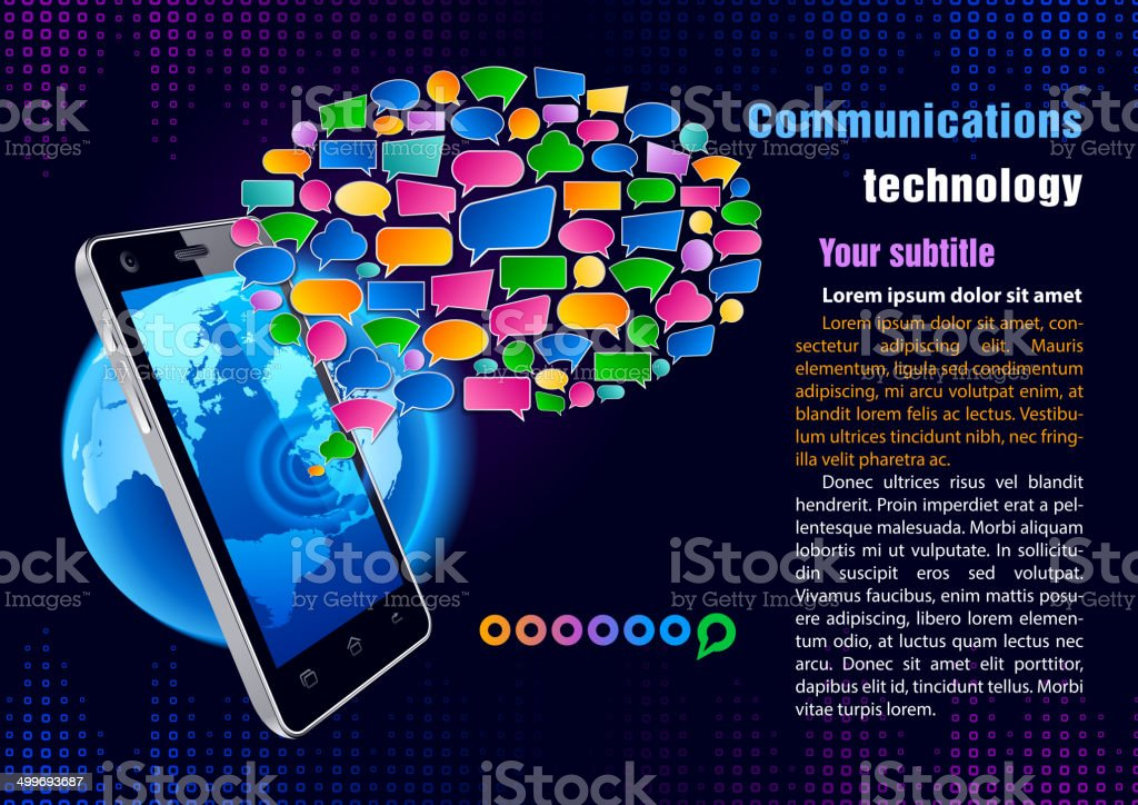Communication technology royalty-free communication technology stock vector art & more images of africa