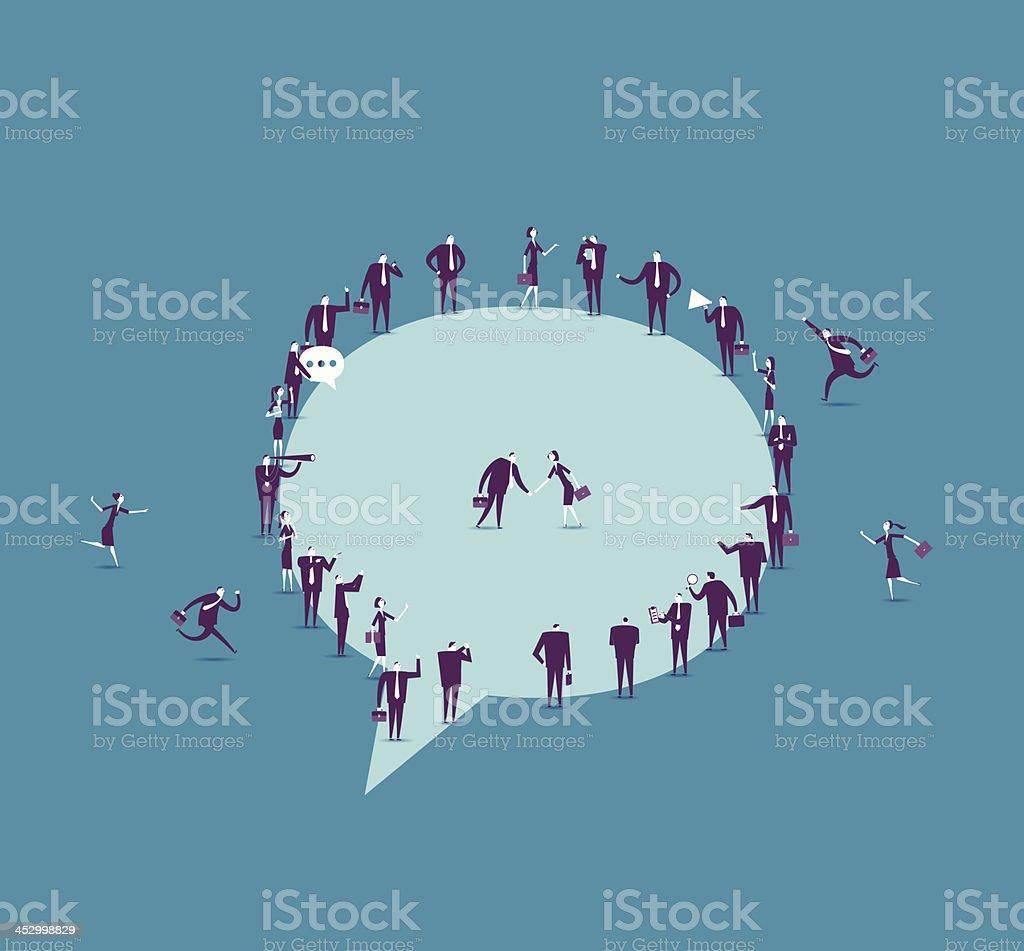Kommunikation – Vektorgrafik