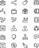 Communication Vector Line Icons 2