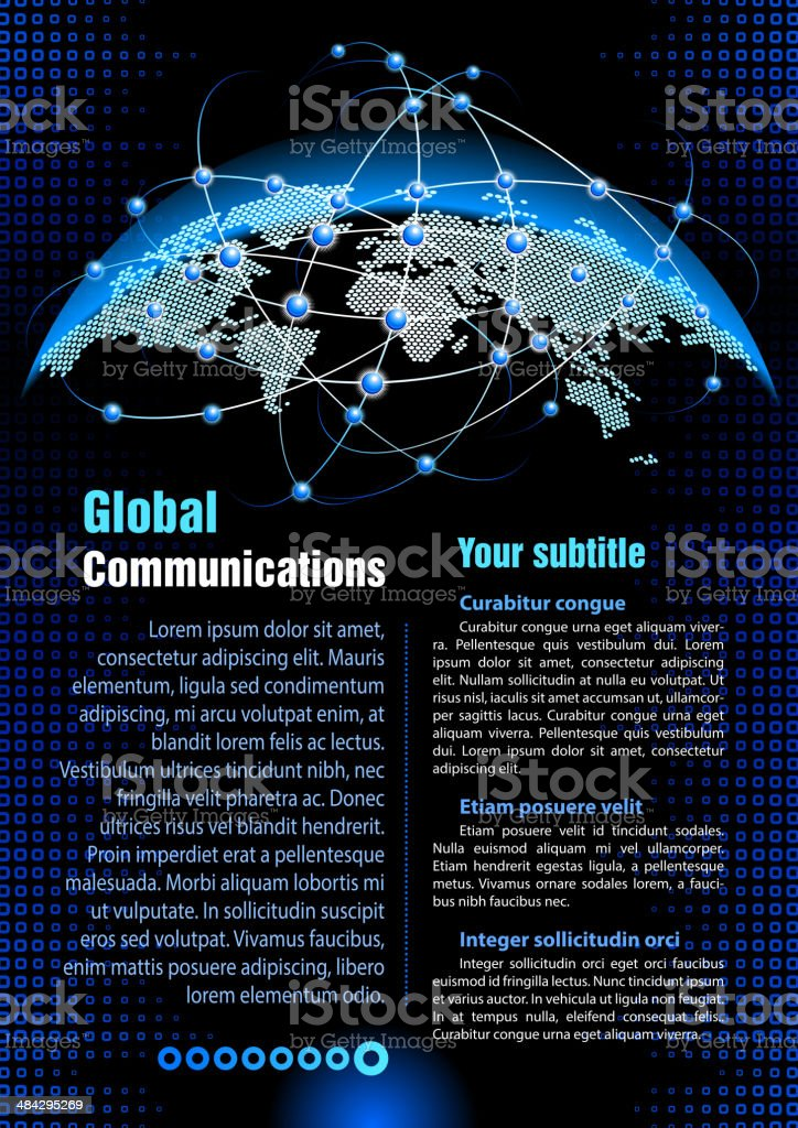 Communications Technology royalty-free stock vector art