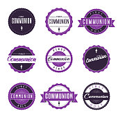 Communion Icon Set