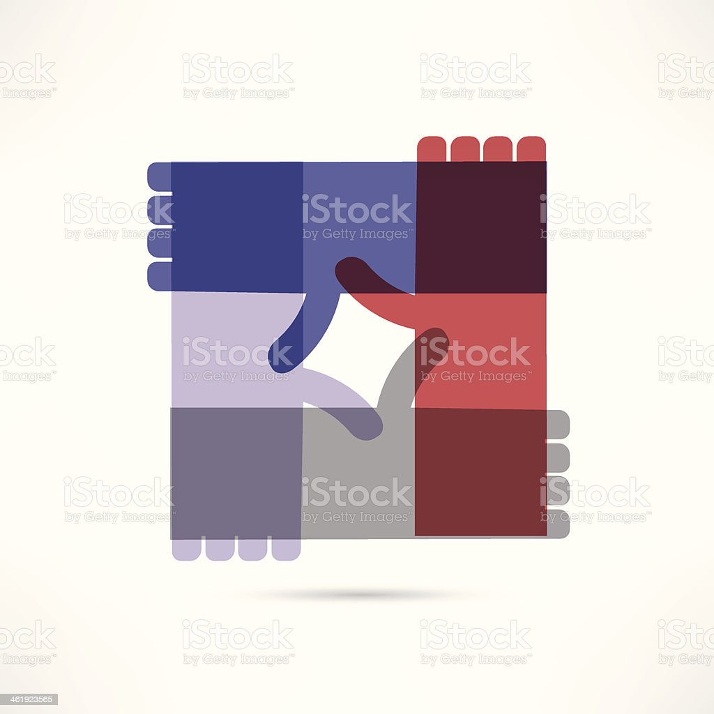 community assistance icon vector art illustration