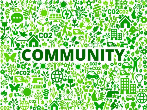 gemeinschaft environmental conservation symbol vektormuster - altglas stock-grafiken, -clipart, -cartoons und -symbole