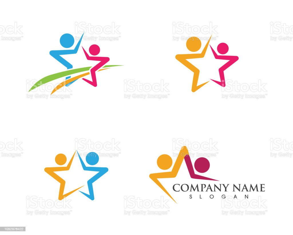 Community icon design template royalty-free community icon design template stock illustration - download image now