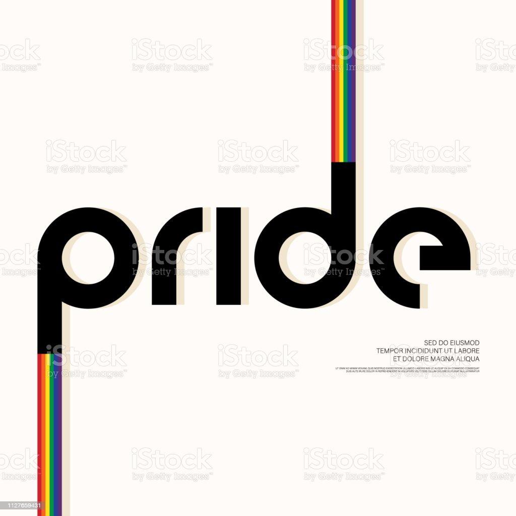 Fondo de plantilla de diseño LGBT comunidad cartel diseño - ilustración de arte vectorial