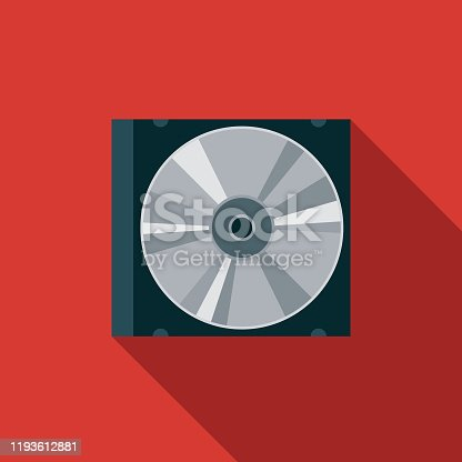 istock Compact Disc Music Icon 1193612881