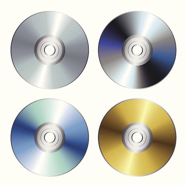 ilustrações, clipart, desenhos animados e ícones de disco compacto - cd