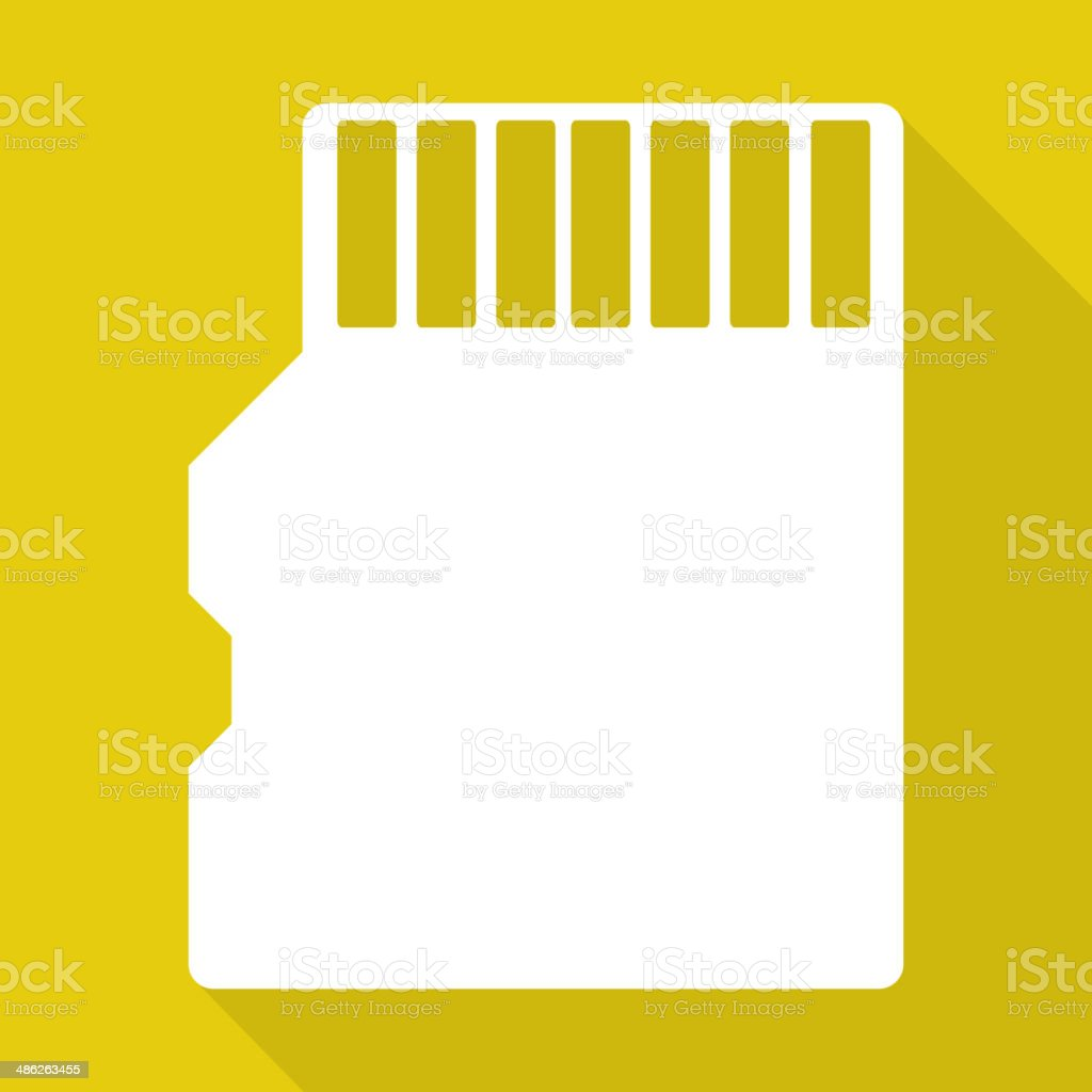 compact memory card icon royalty-free compact memory card icon stock vector art & more images of camera - photographic equipment