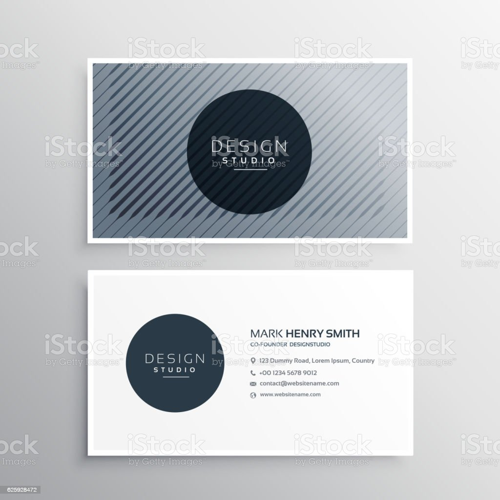 Company business card layout template with abstract pattern line company business card layout template with abstract pattern line royalty free company business card layout fbccfo Gallery