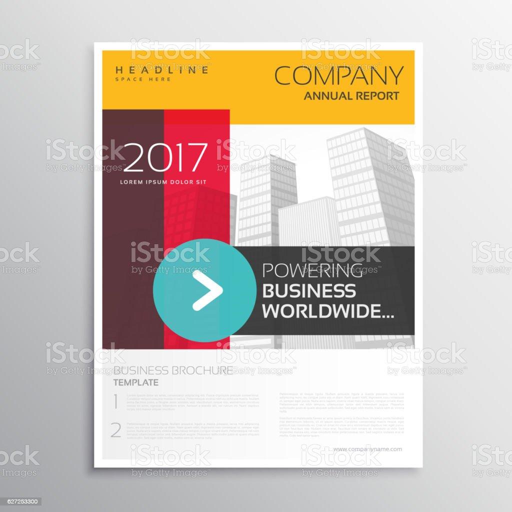 Service Brochure Template