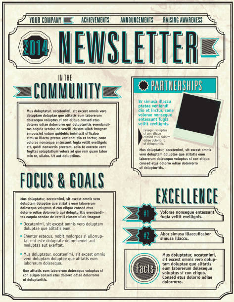 Community Newsletter Template from media.istockphoto.com
