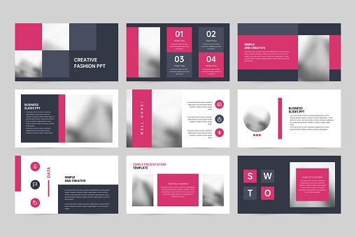 Company simple presentation PPT template