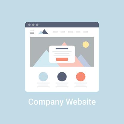 Company Website Wireframe