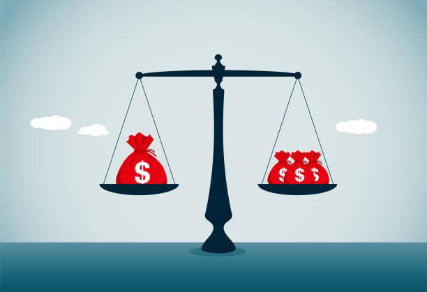 비교 - 균형 stock illustrations