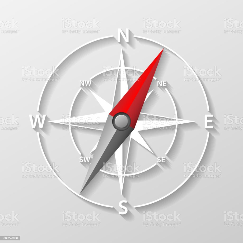 Compass arrow object isolated 3d navigation and direction icon compass arrow object isolated 3d navigation and direction icon with shadow direction and navigation pooptronica