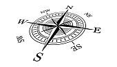 istock Compass icon 1230814807