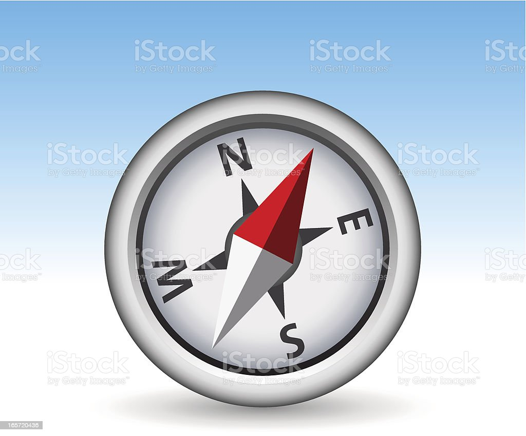 Compass Icon royalty-free stock vector art