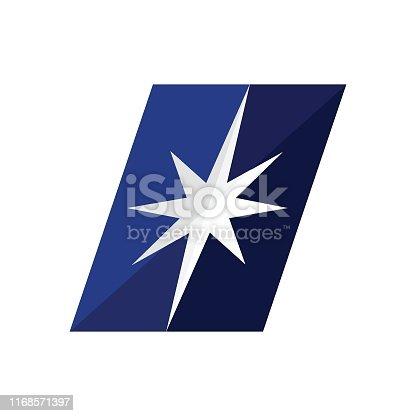 Navigational Compass, Vector, Logo, Direction, Cargo