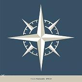 Compass Rose Logo Template Illustration Design. Vector EPS 10.
