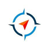 istock Compass Rose Vector Logo Template Illustration Design. Vector EPS 10. 1192489303