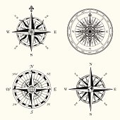 istock Compass Roses 158424213
