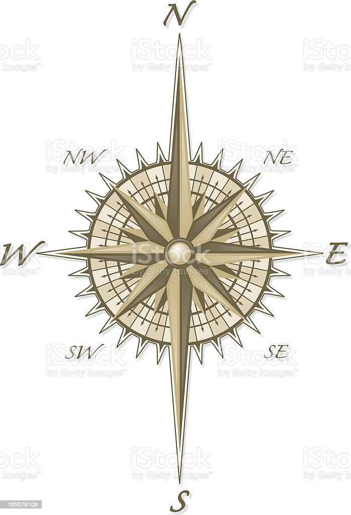 Compass royalty-free compass stock vector art & more images of compass rose