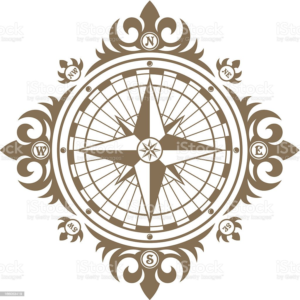 Compass royalty-free compass stock vector art & more images of adventure