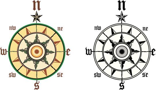 compass wind rose 3