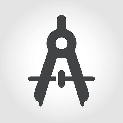 Compasses Icon - Iconic Series