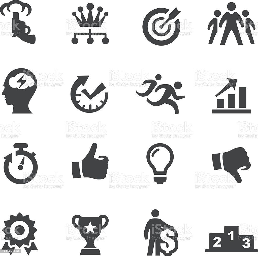 Concorrência ícones-a Acme Série - ilustração de arte em vetor