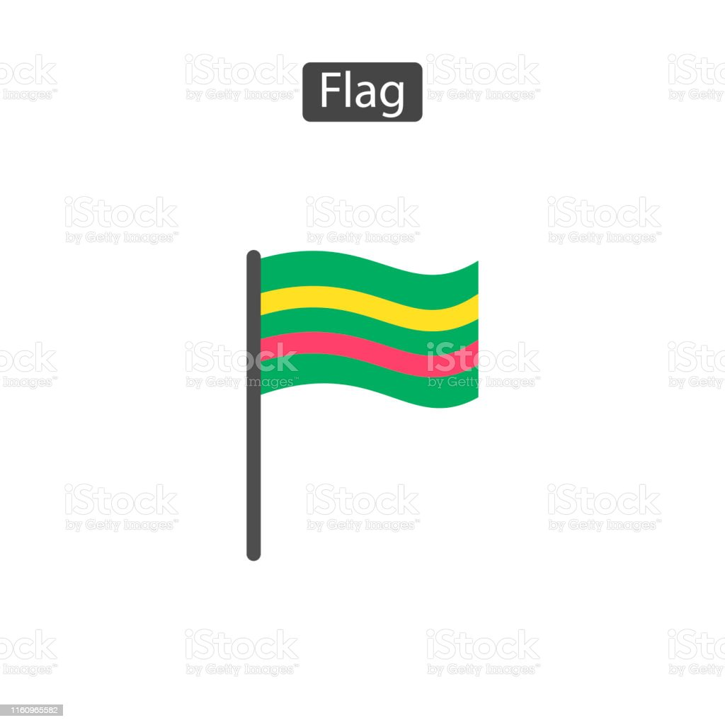 Competition Sport Flag Flat Icon Stock Illustration Download Image Now Istock