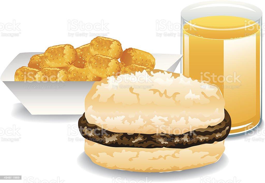 Complete Breakfast royalty-free complete breakfast stock vector art & more images of biscuit