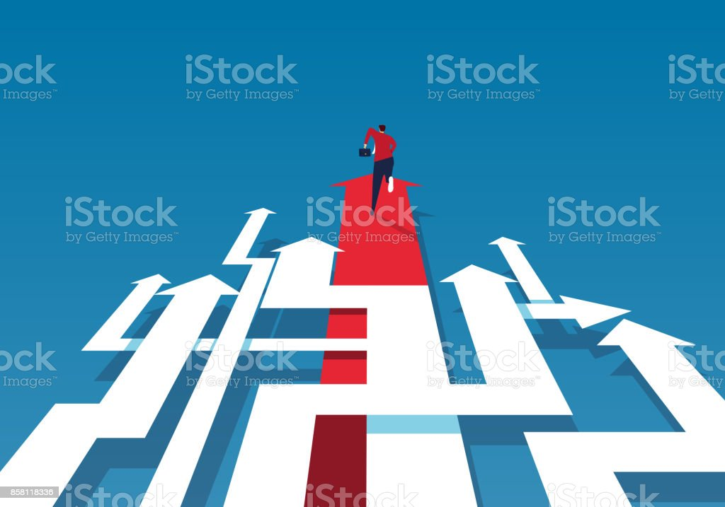 Complex road royalty-free complex road stock illustration - download image now