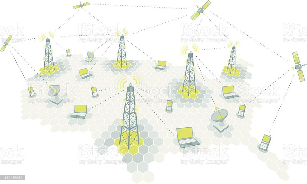 Best Cell Tower Illustrations  Royalty-free Vector Graphics  U0026 Clip Art